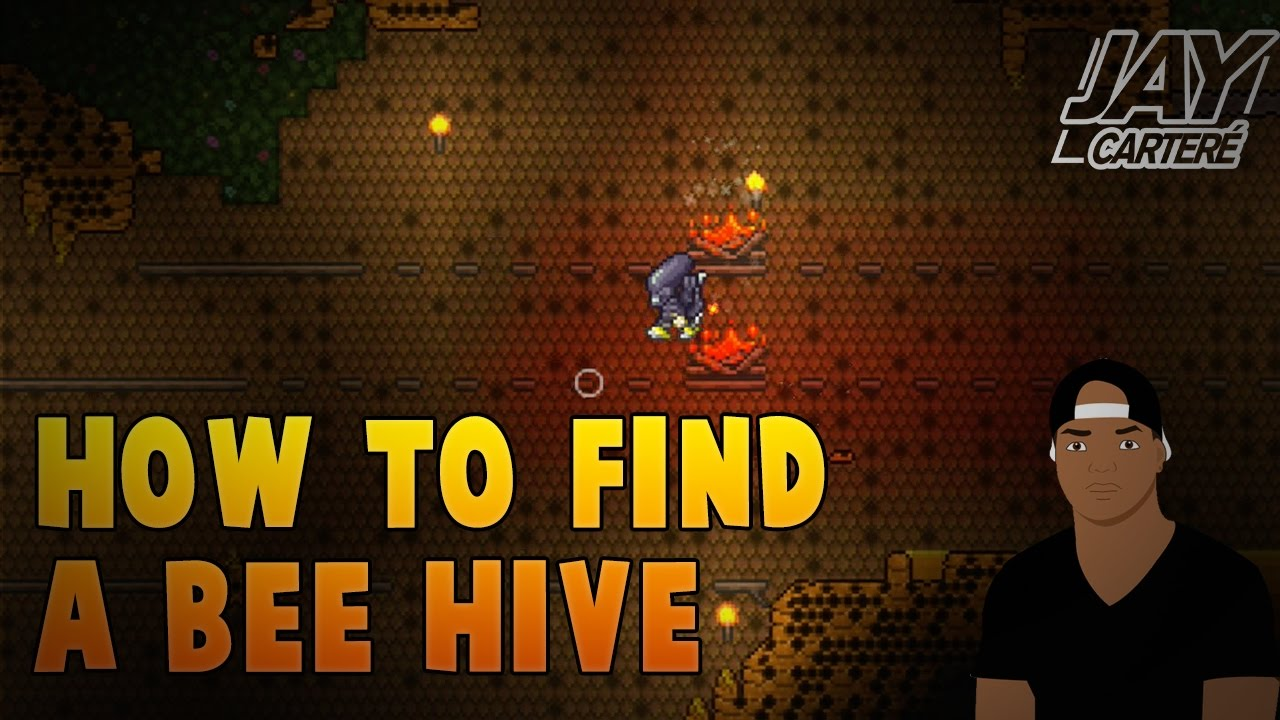 Terraria PS4 Tutorial - How To Find A Bee Hive