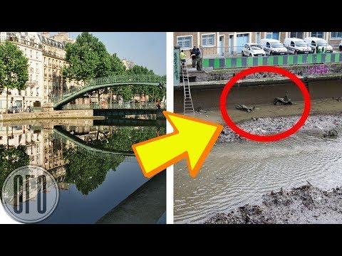 Осушив Этот Канал Впервые за Десятилетия, Рабочие Были Шокированы Увиденным!