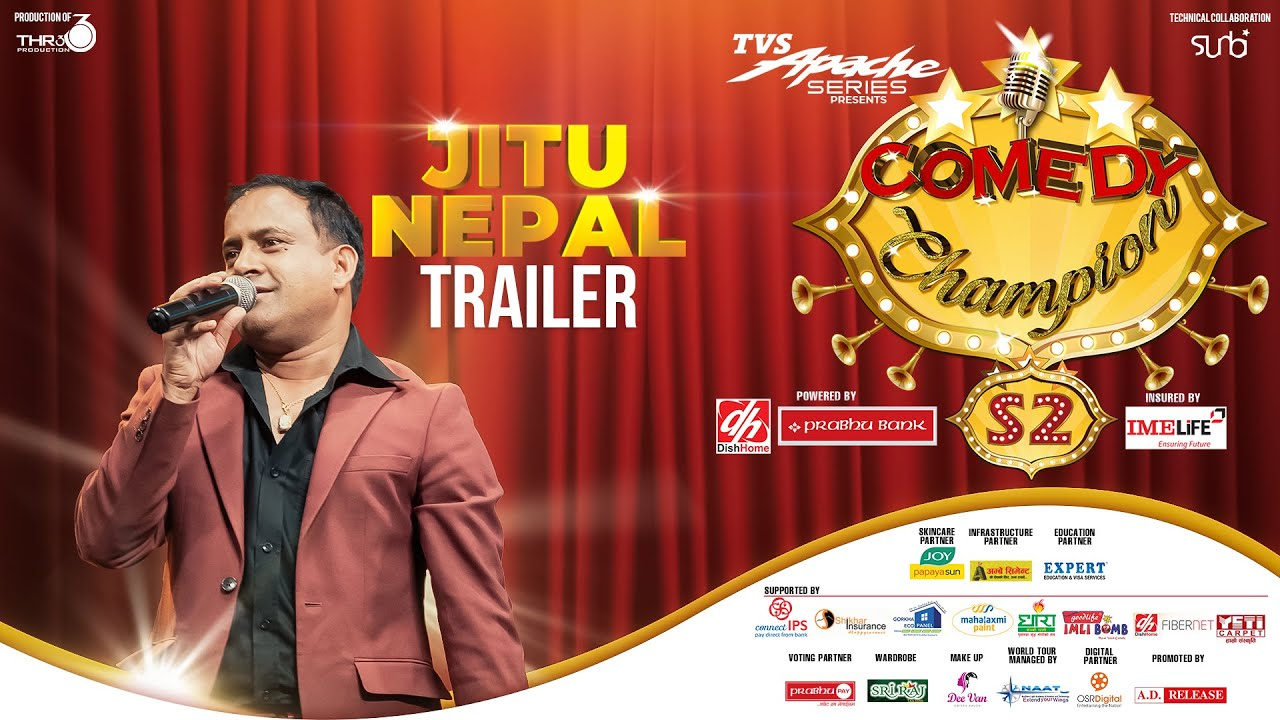 "Jitu Nepal ""MUNDRE"" - COMEDY CHAMPION S2 Trailer"