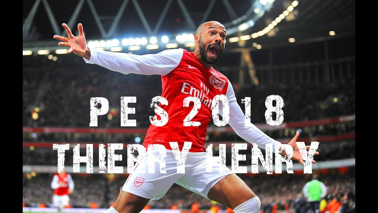 Pes Arsenal King France Art Soccer Thierry Henry