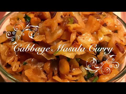 Cabbage Chana Dal Fry | Stir Fry Cabbage | Cabbage Masala - Chanadal PataGobi Ki Sabzi