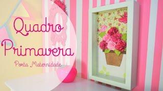Quadro Primavera – Porta Maternidade