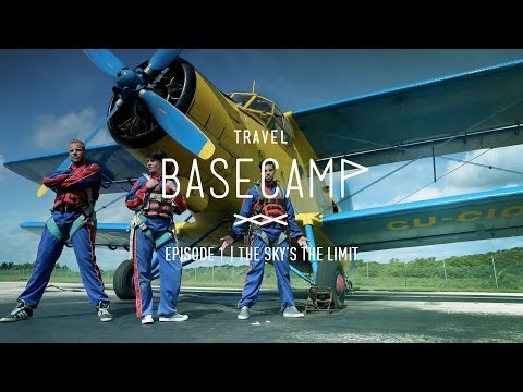Skydiving Over Cuba Using A Freaking Old Plane - Video 1/6