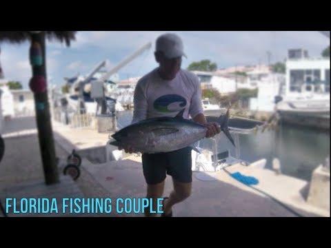 Trolling for Black Fin Tuna in Key Largo - Solo trip