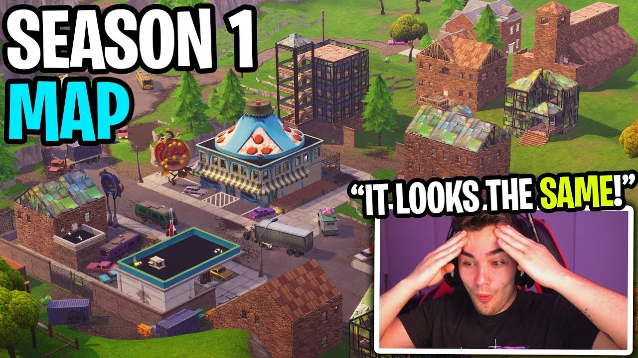 I hired pro builders to recreate the Season 1 Fortnite Battle Royale Map!