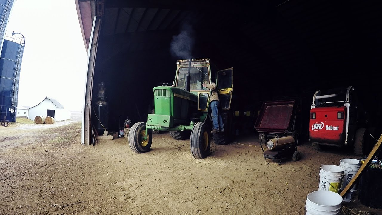 how to change the oil on a john deere