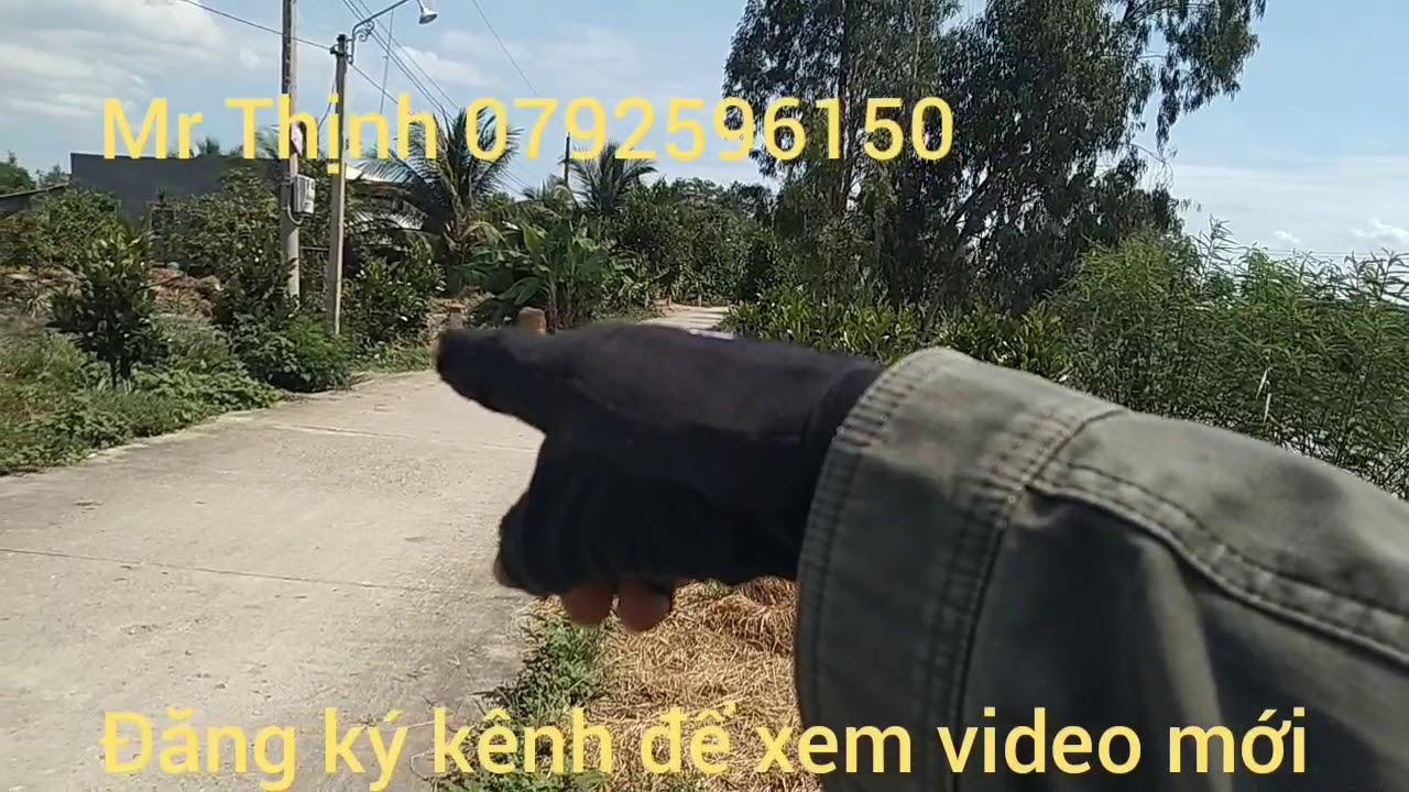 Bán đất làm vườn giá 63tr/1 công huyện Tân Hưng Long An(đã bán)