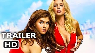Repeat youtube video BAYWATCH Official Trailer # 3 (2017) Dwayne Johnson, Zac Efron, Alexandra Daddario Comedy Movie HD