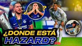 LA TRISTE HISTORIA de HAZARD con el Real Madrid