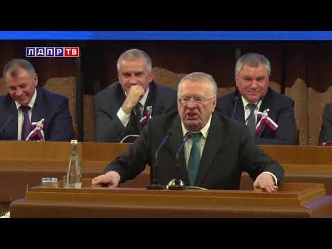 Жириновский быстро заткнул
