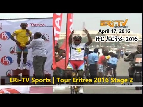 Eritrea ERi-TV Sports News | Tour Eritrea 2016 Stage 2 (April 17, 2016)