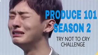 """[ENG SUB] PRODUCE 101 Season 2 """"Try Not to Cry"""" Challenge"""