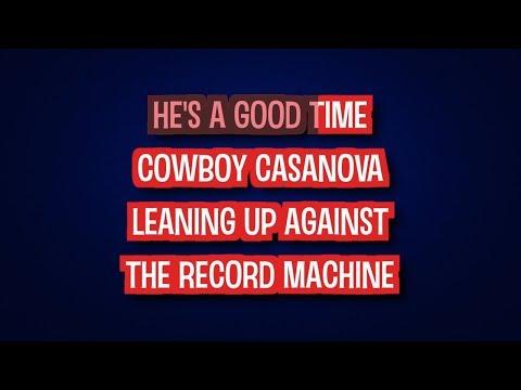 Cowboy Casanova - Carrie Underwood | Karaoke LYRICS