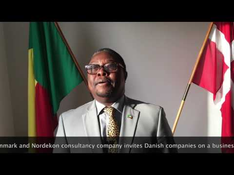 Nordekon business delegation to Benin, 2017