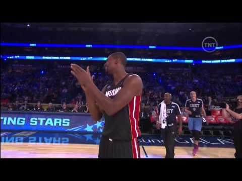 February 15, 2014 - TNT - Team Bosh Wins 2014 Sears Shooting Stars (Chris Bosh)