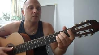 Уроки гитары.В.Цой-Мне не нравится город Москва