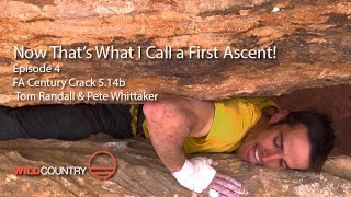 Pete Whittaker & Tom Randall - Century Crack 5.14b (Hot Aches Productions)