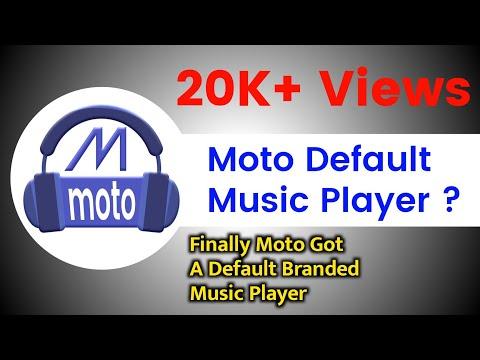 #New  Moto G5s Plus Get Default Motorola Music Player in v7.1.1  ||  Latest 2018 ||