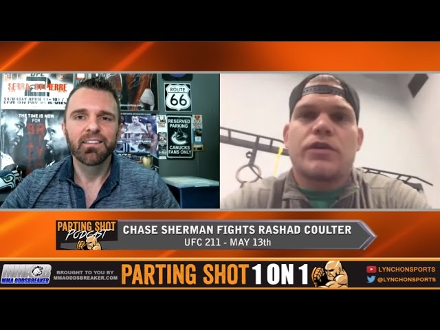 EXCLUSIVE: UFC 211's Chase Sherman talks new opponent Rashad Coulter