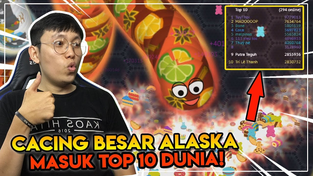 Lagi Review Wormate.io Malah Jackpot Masuk Peringkat 9 Dunia! - Wormate.io Indonesia