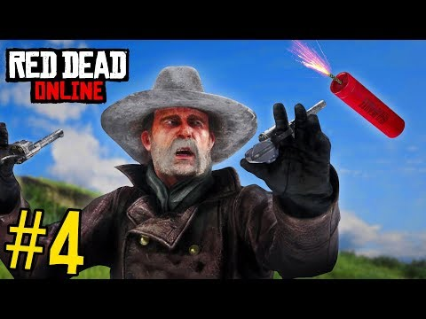 RED DEAD REDEMPTION 2 FAILS & FUNNY MOMENTS #4 thumbnail