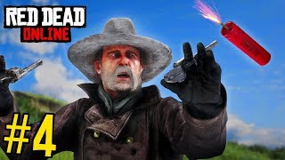 RED DEAD REDEMPTION 2 FAILS & FUNNY MOMENTS #4