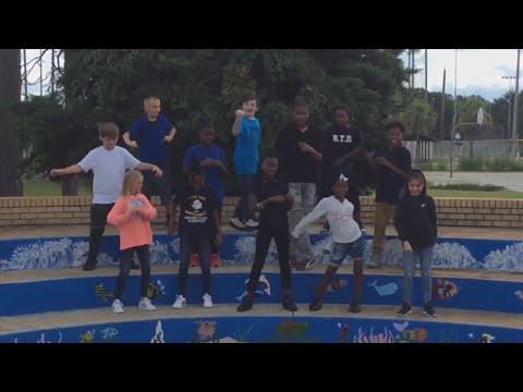 "Oakland Terrace Elementary School Participates in the ""Kiki Challenge""."