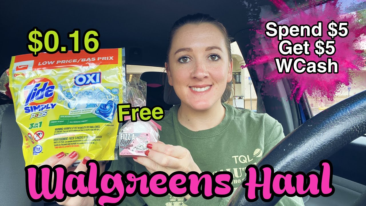 Walgreens Haul 6 FREE Products! 12/6-12/2020