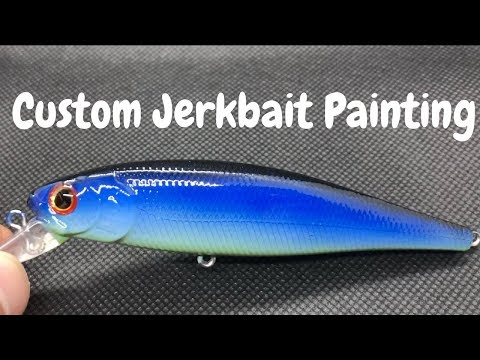 Repeat Fishing Lure Foiling and Painting on Jalapeno