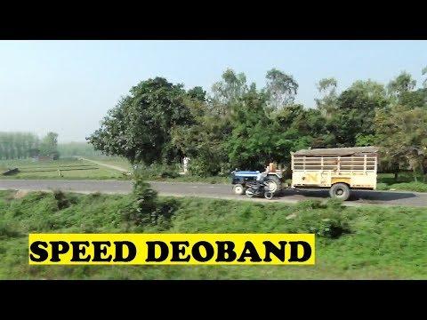 WDP4D Dehradun Shatabdi Rattles Skips Deoband