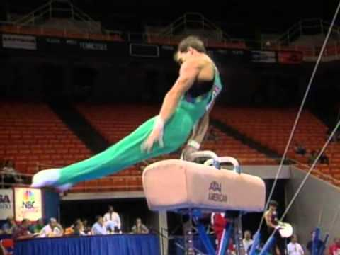 Mihai Bagiu - Pommel Horse - 1996 U.S. Gymnastics Championships - Men