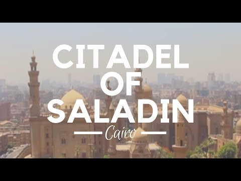 Cairo Citadel, Cairo, Egypt - Salah El-Din Citadel, the Old Islamic Fortification in Cairo, Egypt