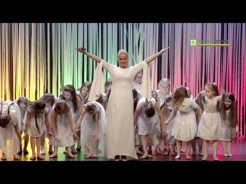 """Šventiniame koncerte """"Ji – Lietuva""""  pasirodė tik moterys (koncerto epizodai)"""