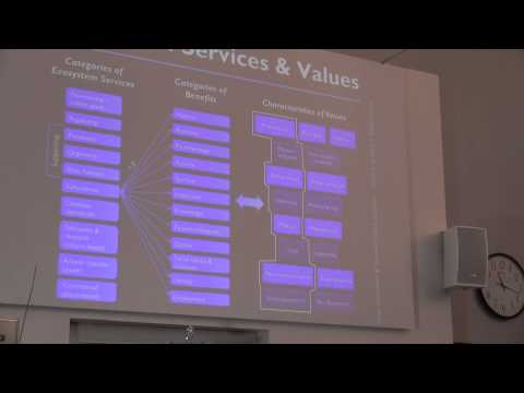 Kai Chan: cultural ecosystem services