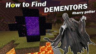 How to Find DEMENTORS   Minecraft PE