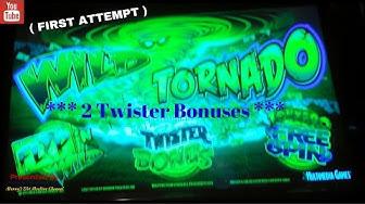 ( First Attempt ) Multimedia Games - Wild Tornado : 2 Twister Bonuses