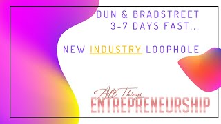DUNS # IN 35 DAYS LOOPHOLE   BUSINESS CREDIT