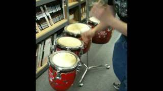 Chinese Tom Toms from California Percussion, LLC