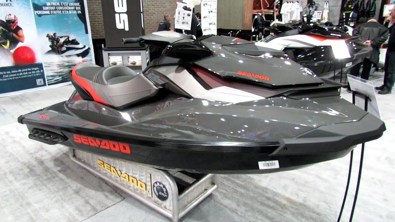 2013 sea doo gti limited 155 jet ski walkaround 2013 montreal boat show youtube. Black Bedroom Furniture Sets. Home Design Ideas