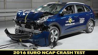 Euro NCAP Crash Test of Kia Niro 2016 - ★★★★
