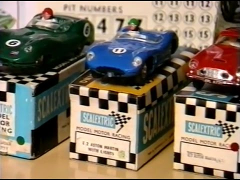 The History Of Scalextric Part One (1957-1970)