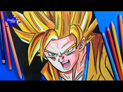 Image Result For Easy Drawing Goku