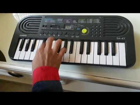 How to play NATIONAL ANTHEMN ON CASIO