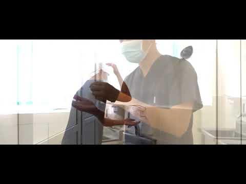 Видео практического навыка  подготовка к операции
