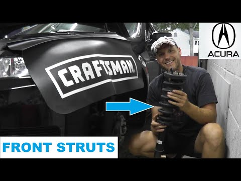 Acura TL Front Strut Replacement with Basic Hand Tools