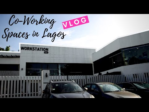 Awesome Co-Working Space in Lagos // The Workstation