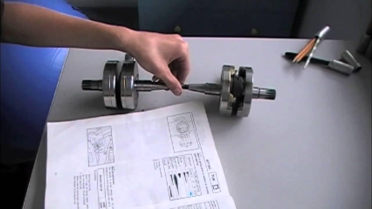 YZ 125 Crank Bearing Failure