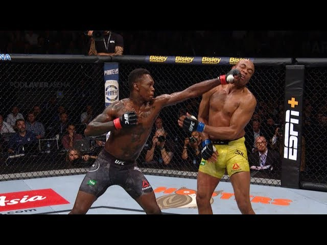UFC 234: Fight Motion