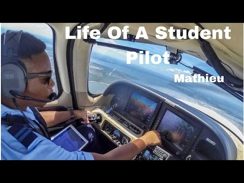 Life Of A Student Pilot - Mathieu From Guadeloupe