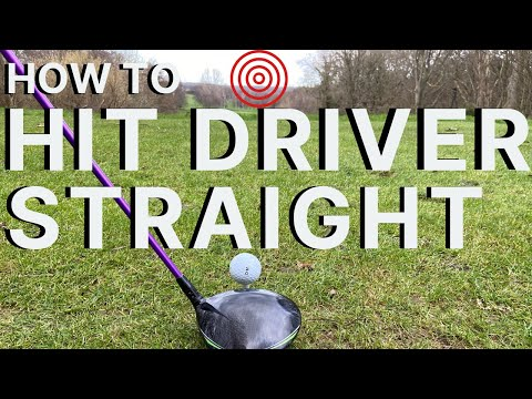 HOW TO HIT YOUR DRIVER STRAIGHT EVERY TIME - 3 Of My Best Golf Tips